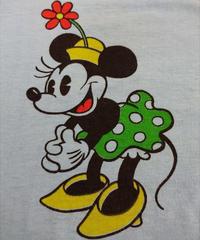 【 ~1970   WALT  DISNEY 】MINNIE MOUSE   T-shirt