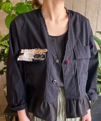 re.make vintage frill jacket