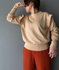 2way pullover knit