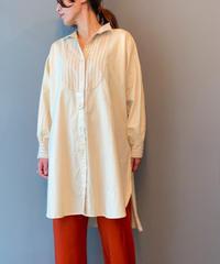 front tuck shirt(beige)