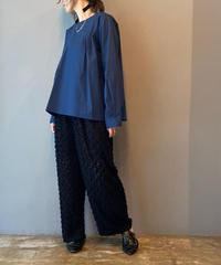 pin tuck pullover