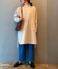 stand shirt  pullover(beige)