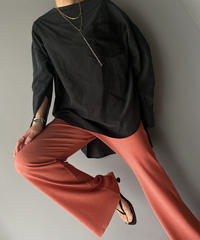 soft rib pants
