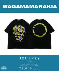 [ 我儘ラキア  ] JOURNEY T-shirt  [ YELLOW ]