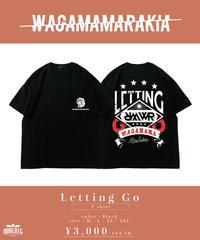 [ 我儘ラキア ] Letting Go T-shirt  [3月下旬お届け]