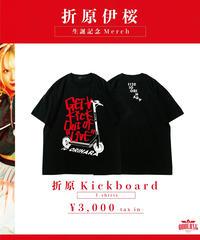 [NightOwl][折原伊桜] 折原Kick board Tシャツ [11/20頃お届け予定]