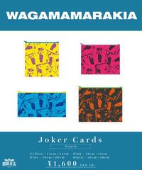 [ 我儘ラキア ]  Joker Cards Pouch