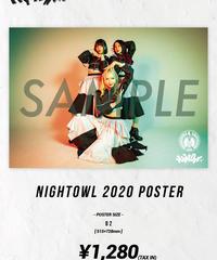 [Night Owl][再入荷!] Night Owl 2020 Poster -B2 size-