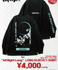 "[ NightOwl ] [完全受注生産品!]  ""All Night Long"" LONG SLEEVE T-SHIRT_BLACK"