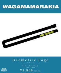 [ 我儘ラキア  ] Geometric Logo G.I Belt