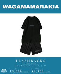 [ 我儘ラキア  ] FLASHBACKS Sweat setup 【 Pants 】 [ Black ]