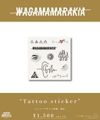 [我儘ラキア]Tattoo sticker