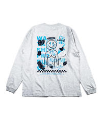 Two Faced NICO L/S T-shirt -ASH