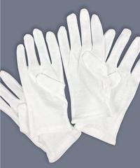 【メール便】綿100% 肌に優しいおやすみ用ソフト手袋 S/M