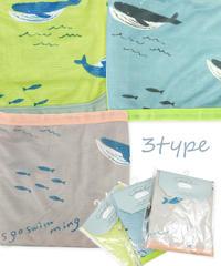 324574 ★GRK1197 クジラ接触冷感ピローパット 3種(税込550円)