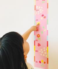 【インスタ・人気】337980 ウォールラインテープ 身長計 2種