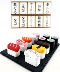 339380【再販・SNS話題】木製おままごとセット にぎり寿司1 2個セット