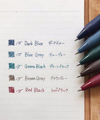 【メール便】1本売りジェルボールペン【インスタ掲載・人気商品】ゼブラ サラサ ジェルボールペン0.5 5タイプ(レッドブラック・グリーンBK・ブルーグレー・ダークブルー・ブラウンGR)