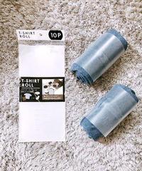 20555【インスタ掲載・便利商品】Tシャツロール 10P