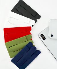 インスタ【人気】86293 カードスタンドケース 5色