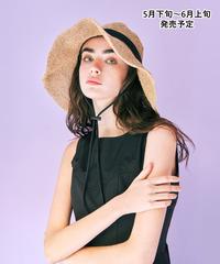折りたたみ麦わら帽子【WCJ-SM-009BE】※5月下旬〜6月上旬発売予定