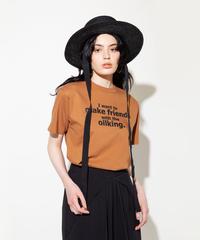 プリントTシャツ【WCJ-TM-004BN】