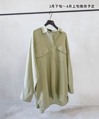 フラップポケット付きシャツ【WCJ-PP-029KH】