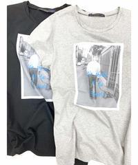 LOANA 80-80981  プリントTシャツ
