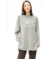 WEAR THE PHILOSOPHY  70-80900  ピグメント加工 ロングスリーブTシャツ