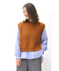 LOANA 80-70381 ニットベスト&シャツ