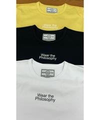WEAR THE PHILOSOPHY / ウェアザフィロソフィー ロゴプリントTシャツ