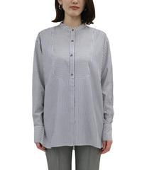 《LOANA》80-80100 P3-12 /ストライプスタンドカラーシャツ