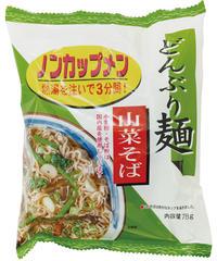 どんぶり麺・山菜そば4個セット   21176