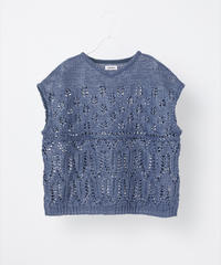 COOHEM / SUMMER LACE KNIT PULLOVER