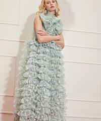sister jane / DREAM Like a Butterfly Ruffle Maxi Dress