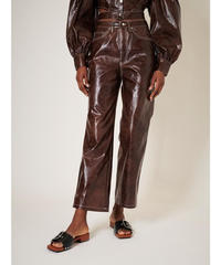 GHOSPELL / Knight Faux Leather Trousers