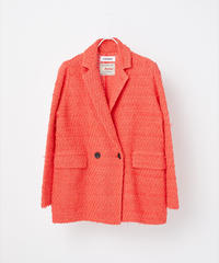 COOHEM / SEASONAL COLOR TWEED JACKET
