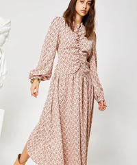 GHOSPELL / FINESS HIGH LOW MIDI DRESS
