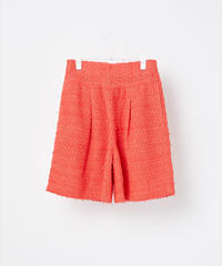 COOHEM / SEASONAL COLOR TWEED PANTS