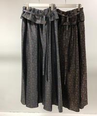 QUWAGI  / Jacquard Skirt