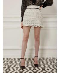 sister jane / DREAM Lindy Hop Tweed Mini Skirt