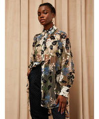 sister jane / DREAM Soiree Embroidered Oversized Shirt