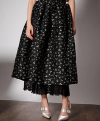 sister jane / DREAM Crowned Jacquard Midi Skirt