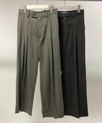 QUWAGI  / 2P Wide Pants