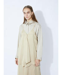 Rito / SATIN STRIPE SHIRT