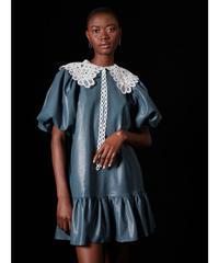 GHOSPELL / Queen Collar Mini Dress