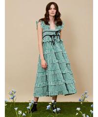 sister jane / DREAM Roller Gingham Midi Dress