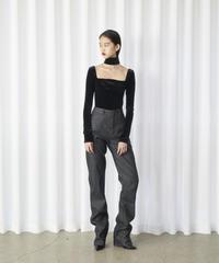 FETICO /  12oz Highrise  Coated Jeans
