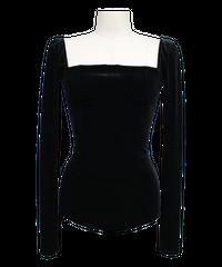 FETICO /  Square neck velour bodysuits