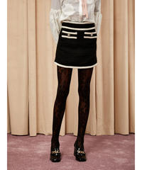 sister jane / DREAM Dining Tweed Mini Skirt